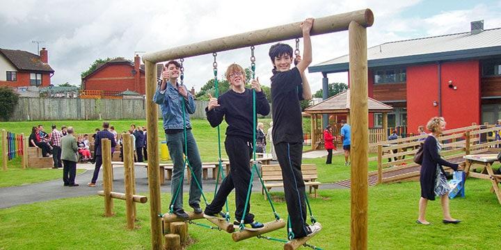 Regency High School SEN Playground Opening