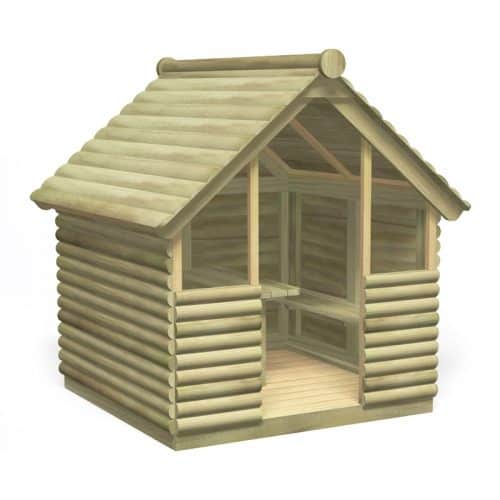 Log Play Hut (Front)