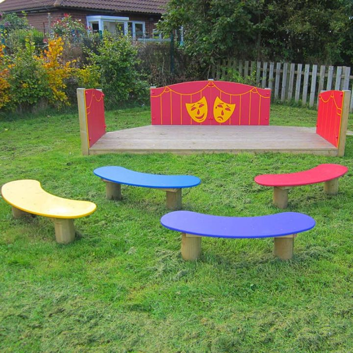 Jellybean Bench With a HDPE Plastic Top