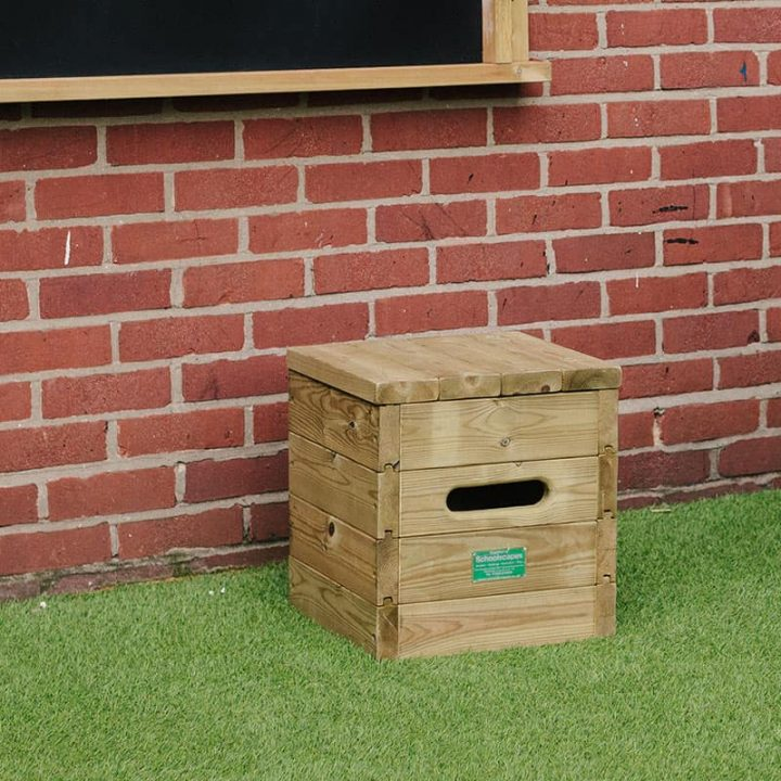 Timber Seating Cube