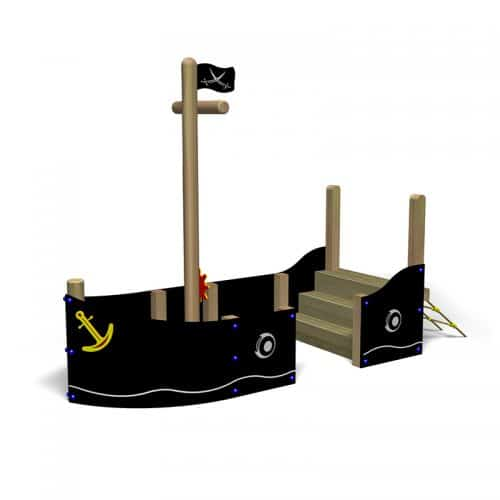 Outdoor Pirate Ship (Front)