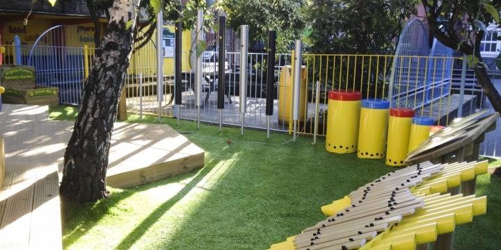 Virginia Primary School Sensory Play Space