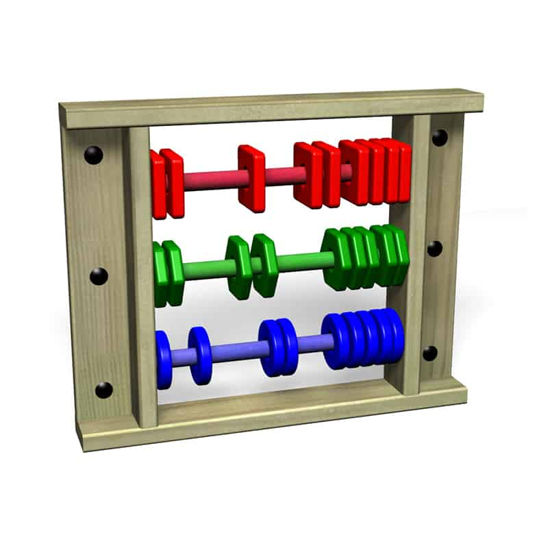GiantAbacus WallMounted