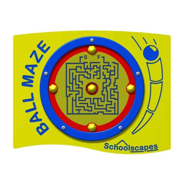 Rotating Ball Maze Panel