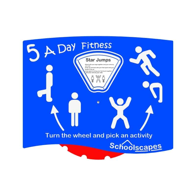 Five a day Fitness Activity Panel