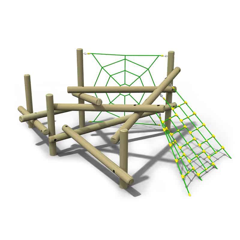 Pick Up Sticks (Four) Web & Net