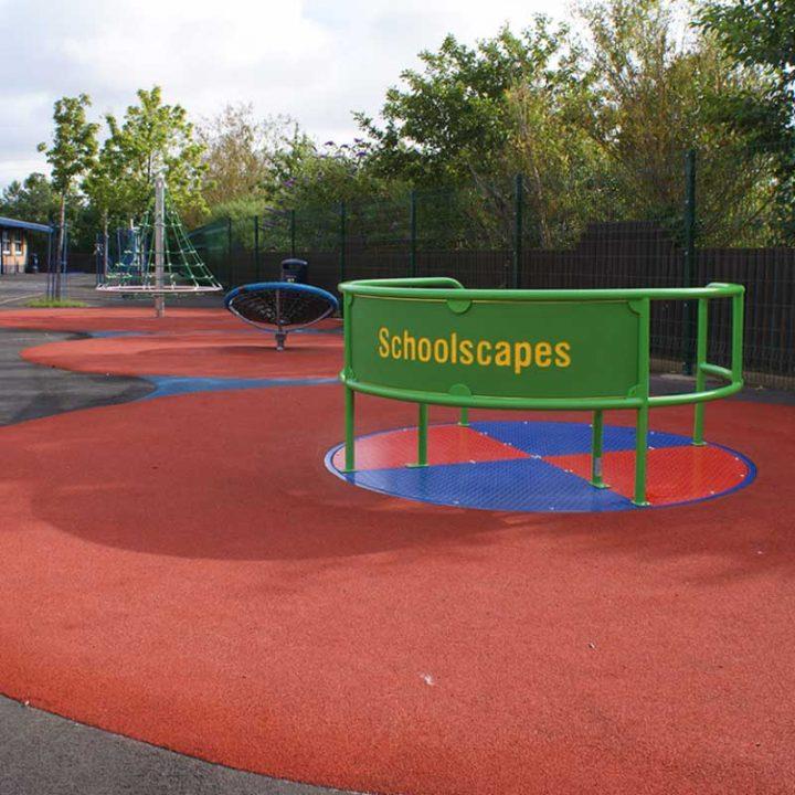 Schoolscapes Inclusive Roundabout
