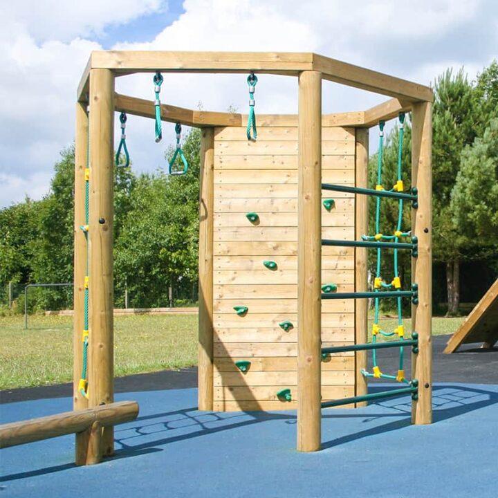 Hexagonal Playground Climbing Frame