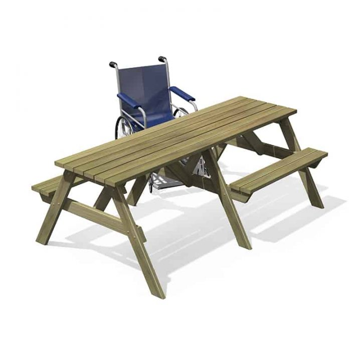 Accessible Playground Picnic Table