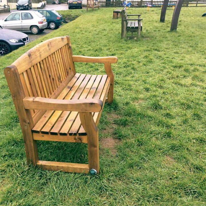 Timber Polmorla Bench