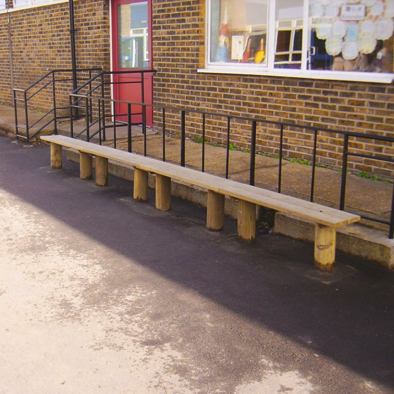Post Mounted Timber Benches