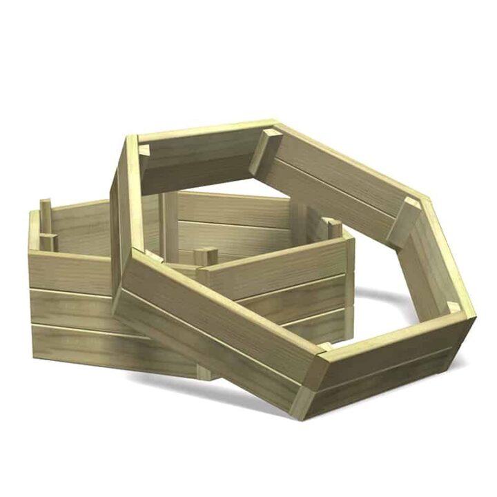 Hexagonal Stacking Planter Base