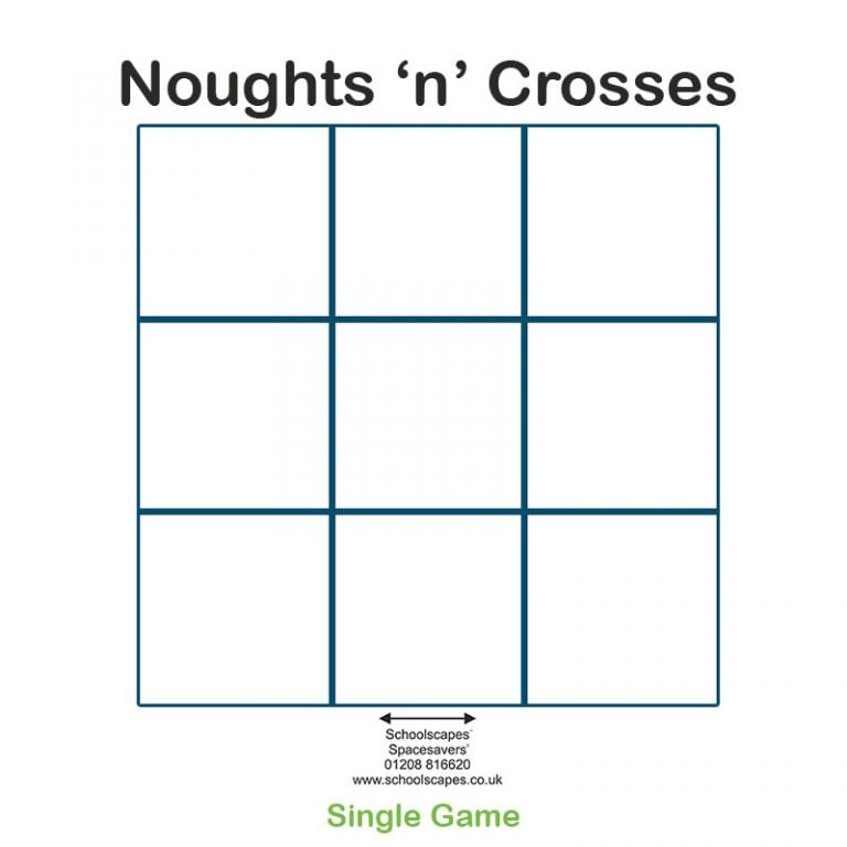 Noughts 'n' Crosses Single GameTop Game