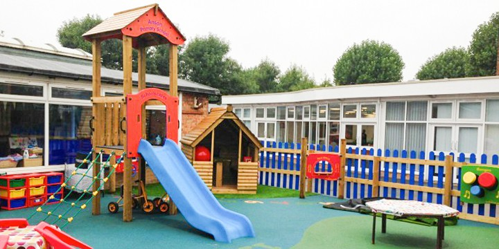 Anson Primary School Active Play Space