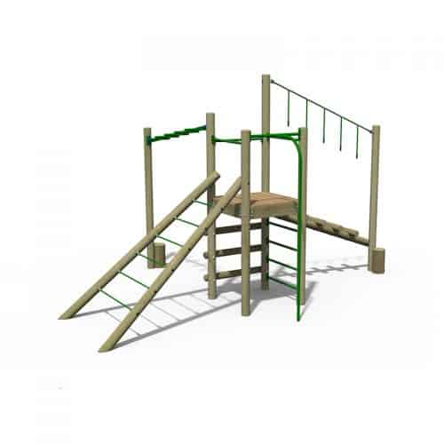 Treetops Three Multi Level Play Tower