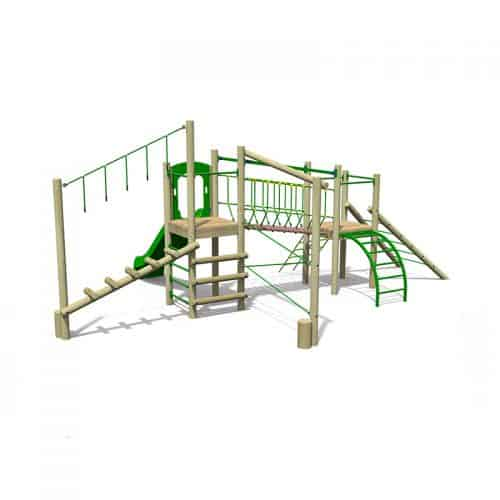 Treetops Four Playground Tower