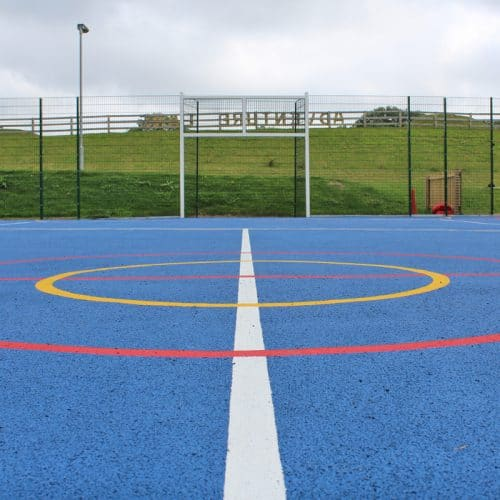 Polymeric Sports Surface For Schools