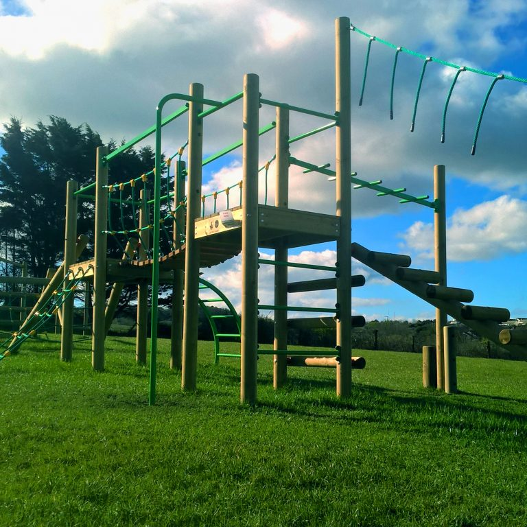 Treetops Five Adventure Play Tower