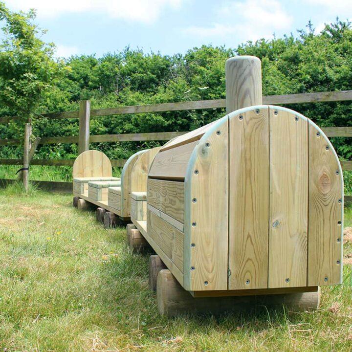 Timber Play Locomotive