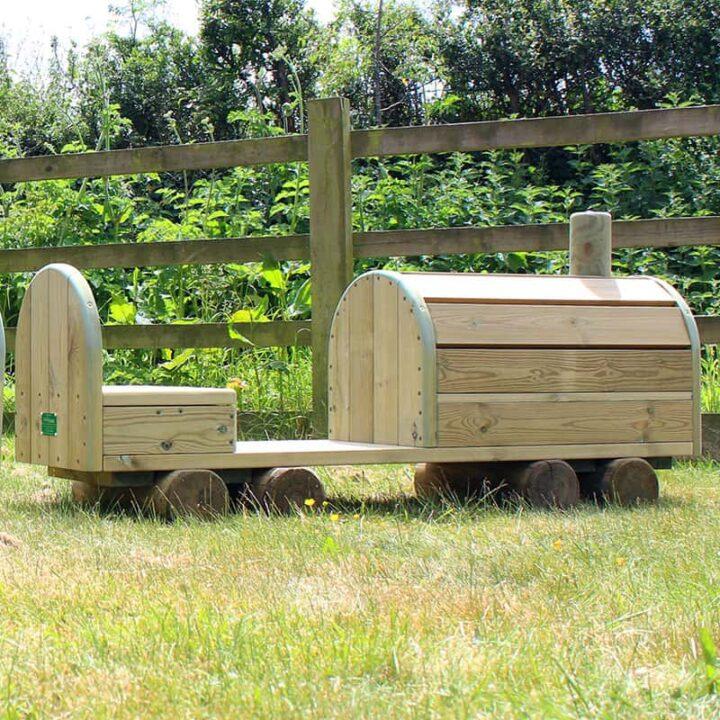 Timber Locomotive