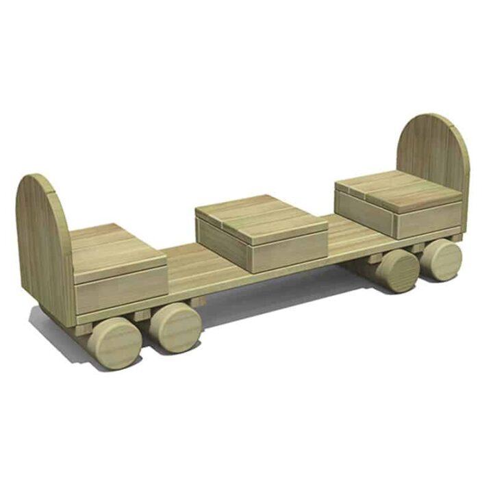 Timber Passenger Carriage