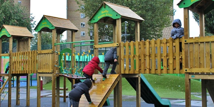 Barlby Primary School - Active Play and Sports Spaces