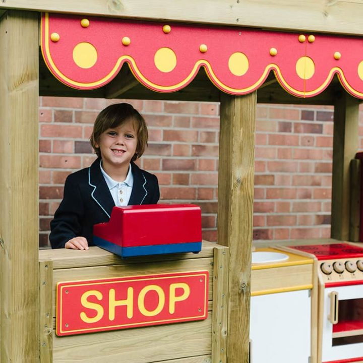 Playtime Shop With Till Space