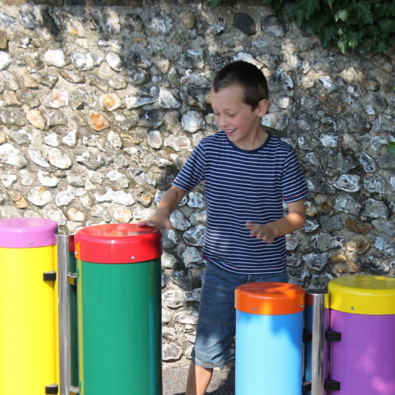 Congas Trio Outdoor Musical Drums