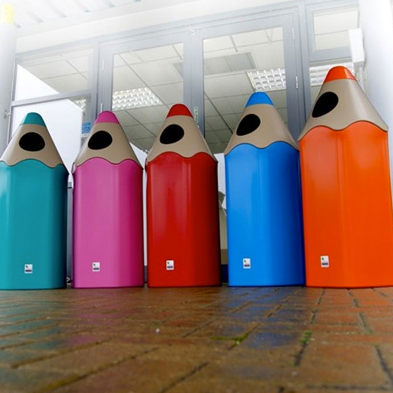 Pencil Play Litter Bin