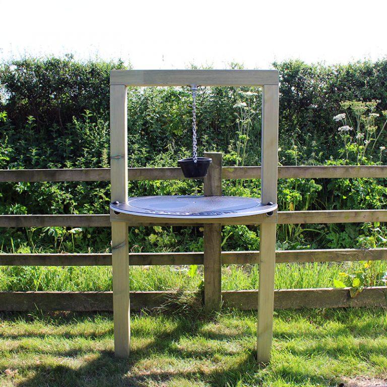 Timber Sand Pendulum