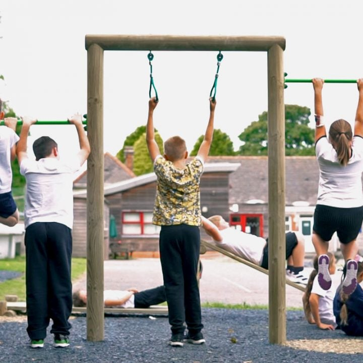 Pull-Up Roll Over Gym - Outdoor Gym Equipment