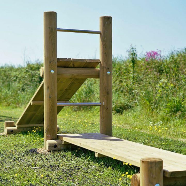 Timber Gym Bench