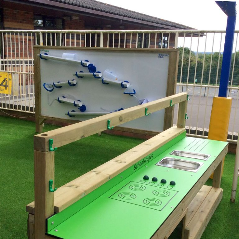 Water Play Wall In Play Space