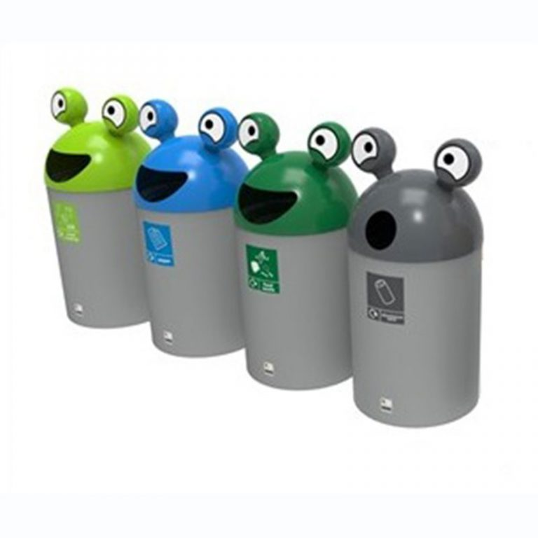 SpaceBuddyRecyclingBins FourSet