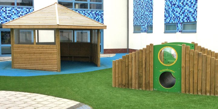 Delius Primary School - Court Yard & Sensory Garden
