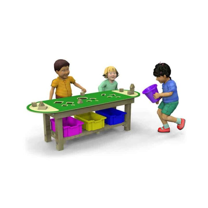 Sorting Table Green EYFS