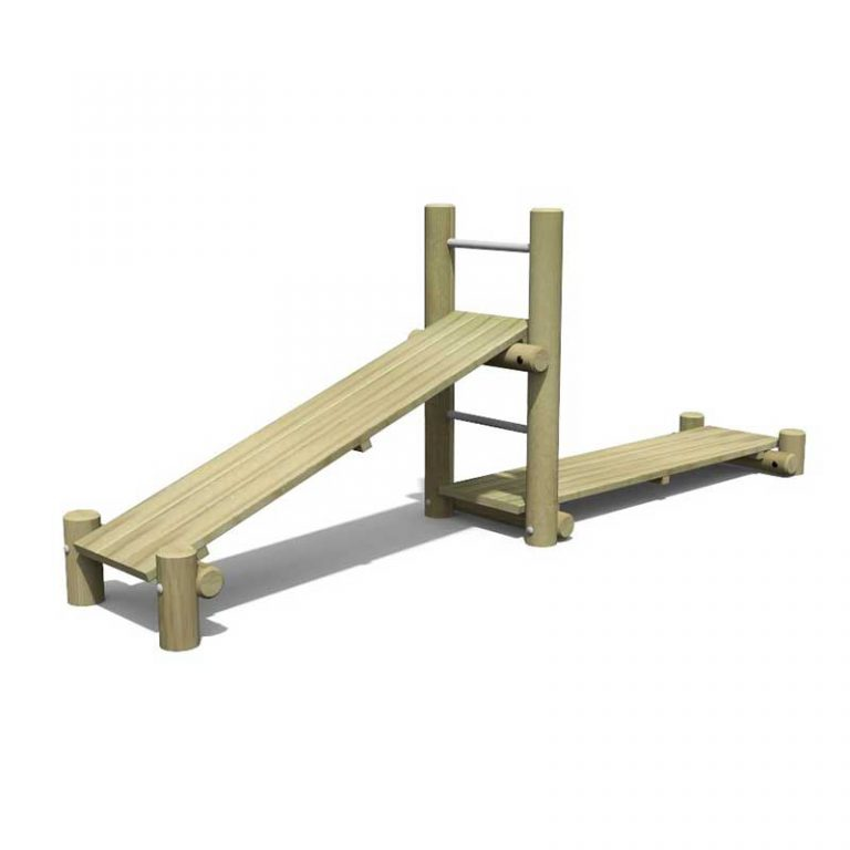 Children's Timber Gym Bench
