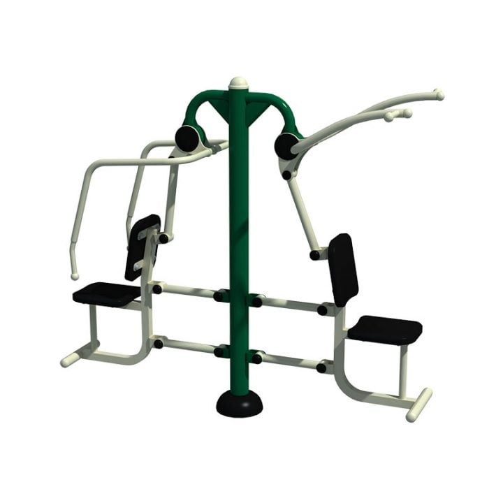 Young Adult Combination Pull Down & Chest Press